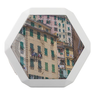 Colorful Homes in Cinque Terre Italy White Bluetooth Speaker