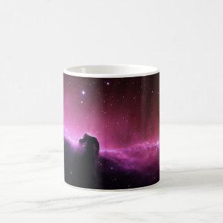 Colorful horsehead nebula coffee mug