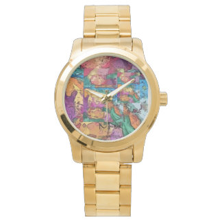 Colorful Horses Watch