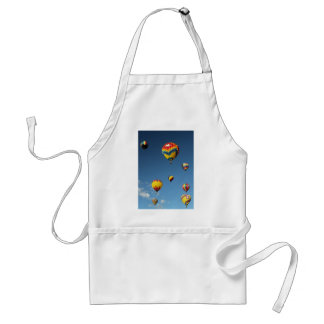 Colorful Hot Air Balloons in the Sky Standard Apron