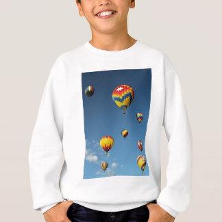Colorful Hot Air Balloons in the Sky Sweatshirt