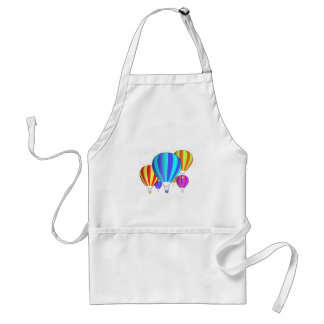 Colorful Hot Air Balloons Standard Apron
