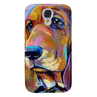 Colorful Hound Dog