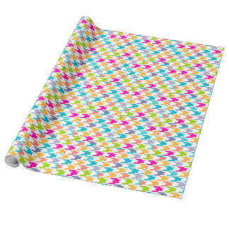 Colorful Houndstooth Seamless Pattern 3