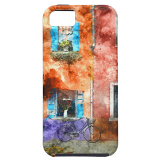 Colorful houses in Burano island, Venice iPhone 5 Covers