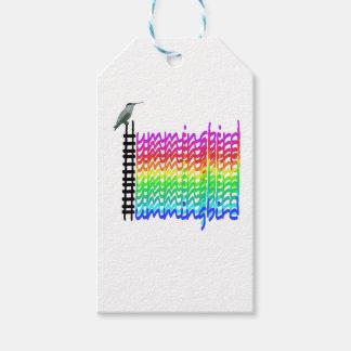Colorful Hummingbird Gift Tags
