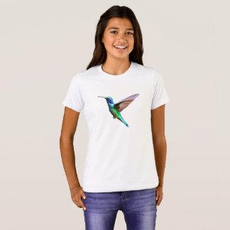 Colorful Hummingbird Nature Art T-Shirt
