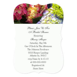 Colorful Hydrangea Invitations