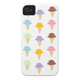 Colorful Ice Cream Cones iPhone 4 Cases