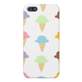 Colorful Ice Cream Cones Case For iPhone 5/5S