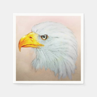 Colorful illustrated set of napkins - Eagle Disposable Napkin