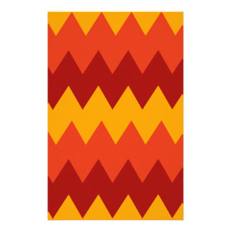Colorful Indian Rug Pattern Stationery