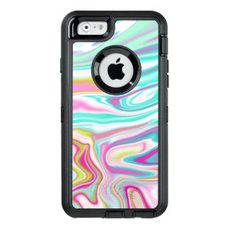 Colorful Iridescent Marble Design OtterBox iPhone 6/6s Case