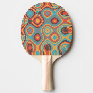 Colorful irregular shapes Ping-Pong paddle