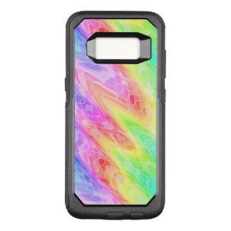 Colorful Jagged Lines Abstract OtterBox Commuter Samsung Galaxy S8 Case