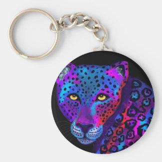 Colorful Jaguar Keychain