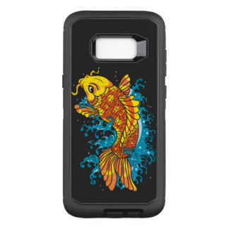 Colorful Japanese Koi OtterBox Defender Samsung Galaxy S8+ Case