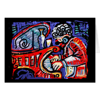 **Colorful Jazz** Card