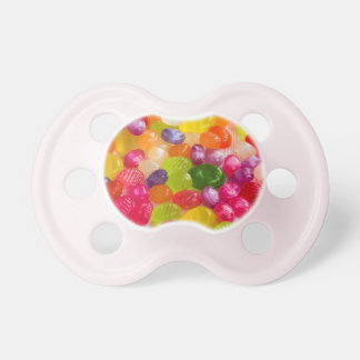 Colorful Jelly Beans Candy Unique Baby Pacifier