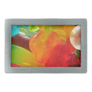 colorful jelly gum texture belt buckles