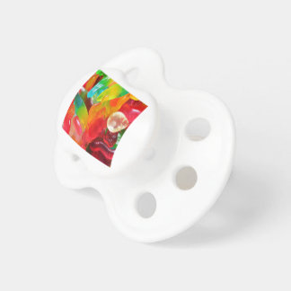 colorful jelly gum texture pacifier
