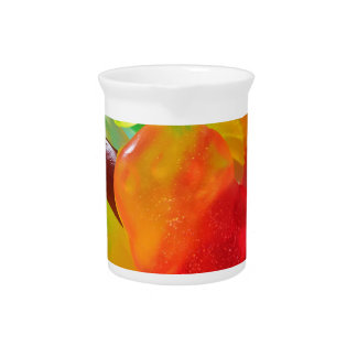 colorful jelly gum texture pitcher
