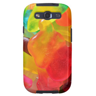 colorful jelly gum texture samsung galaxy SIII case