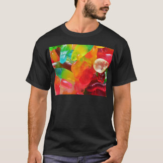 colorful jelly gum texture T-Shirt