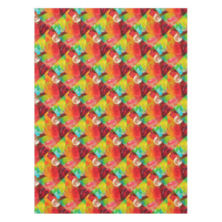 colorful jelly gum texture tablecloth
