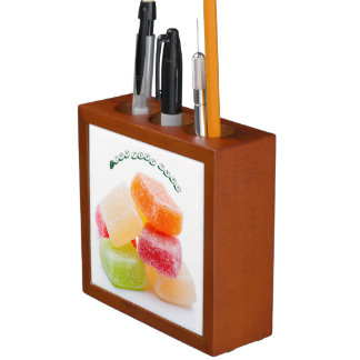 Colorful Jelly Gummy Square Sweets Desk Organizers