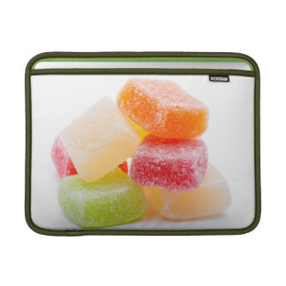 Colorful jelly square sweets sleeves for MacBook air