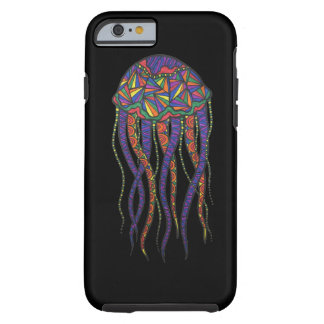 Colorful Jellyfish Tough iPhone 6 Case