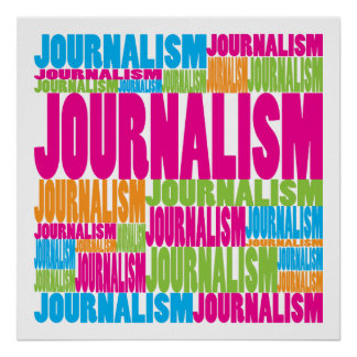 Colorful Journalism Poster