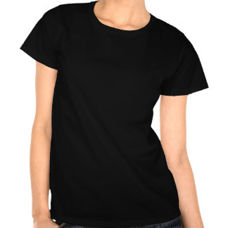 Colorful Jumbled Music Notes on Black Shirts