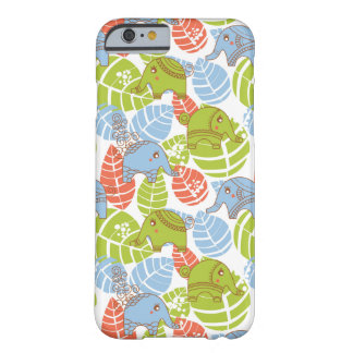 Colorful Jungle Elephants Barely There iPhone 6 Case