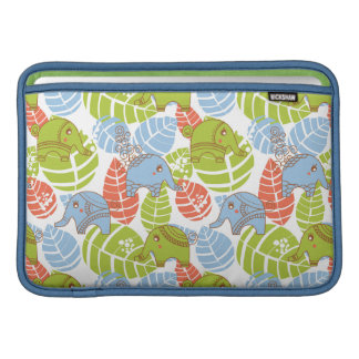 Colorful Jungle Elephants MacBook Air Sleeves