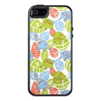 Colorful Jungle Elephants OtterBox iPhone 5/5s/SE Case