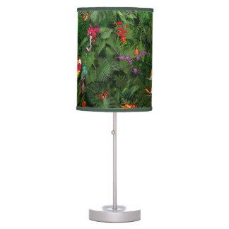 Colorful Jungle Table Lamp