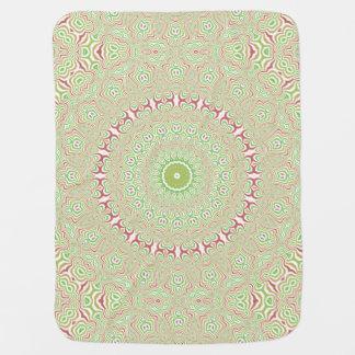 Colorful Kaleidoscope 1 Baby Blanket