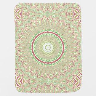 Colorful Kaleidoscope 2 Baby Blanket