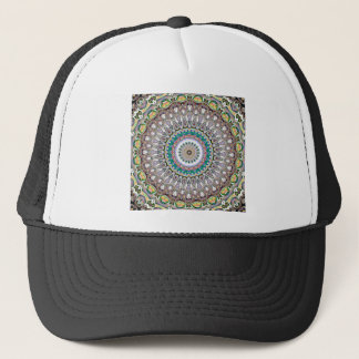 Colorful Kaleidoscope Mandala Trucker Hat