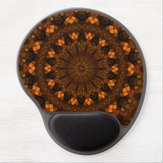 Colorful kaleidoscope mosaic gel mouse mat