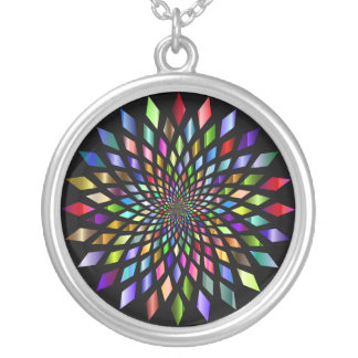 Colorful Kaleidoscope Necklace