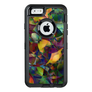Colorful, Kaleidoscopic Abstract Art OtterBox Defender iPhone Case