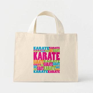 Colorful Karate Mini Tote Bag