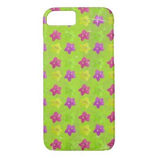 Colorful Kawaii Stars iPhone 7 Case