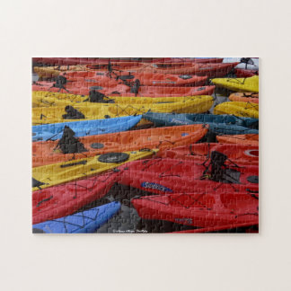 Colorful Kayak Puzzle