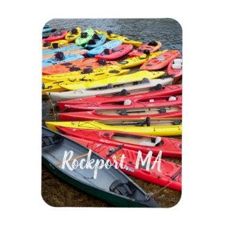 colorful Kayaks, Rockport MA Magnet