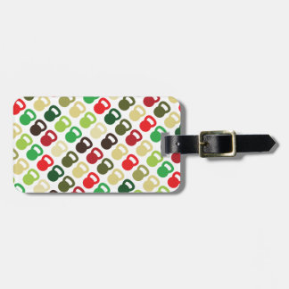 Colorful Kettlebells For Luggage Tag