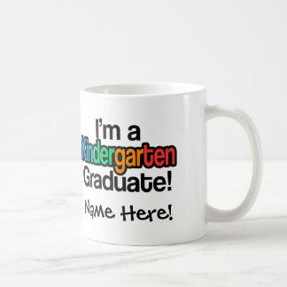 Colorful Kids Graduation Kindergarten Graduate Coffee Mug